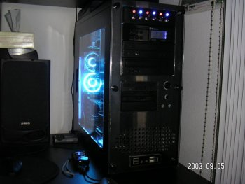 Side/front of case